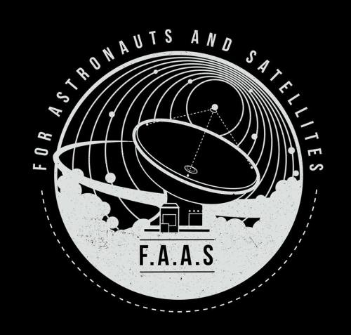 for astronauts and satellites logo