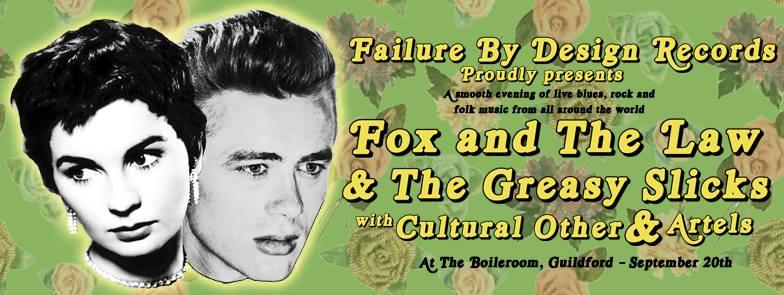 fox and the law greasy slicks boileroom