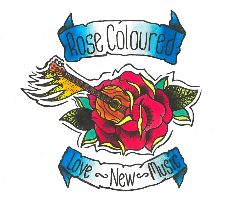 rose coloured logo