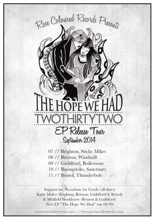twothirtytwo tour poster