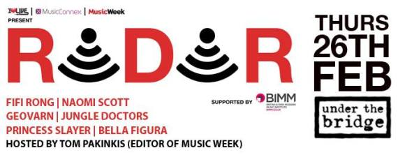music week radar