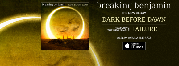 breaking benjamin failure banner